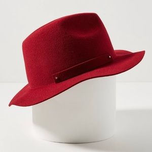 Anthropologie packable Fedora